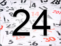 Листок календаря, 24