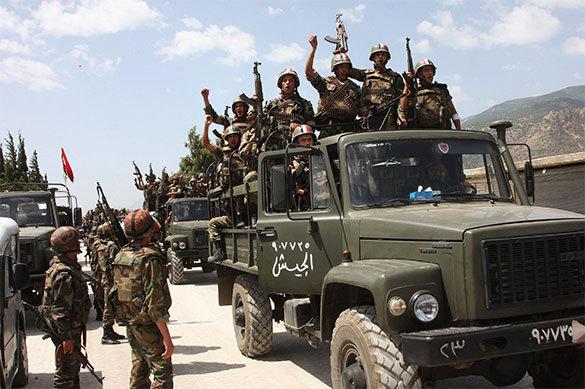 Сирийская армия полностью вернула контроль над северо-восточной