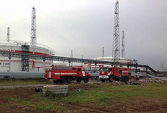В нижегородском Кстове ликвидировали открытое горение на НПЗ