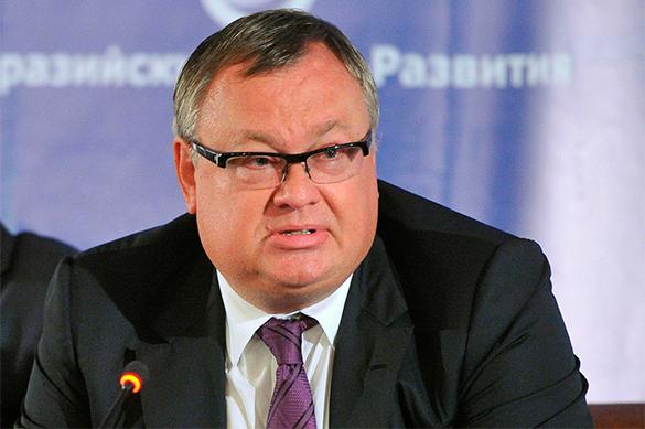Франция наложила арест на российские счета. Андрей Костин