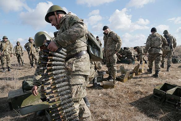 США будут тренировать бойцов Нацгвардии Украины. нацгвардия, армия, солдаты, войска