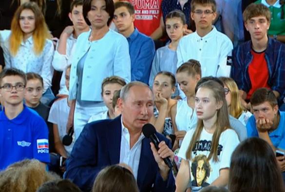 Президент России рассказал о своем отношении к тем, кто