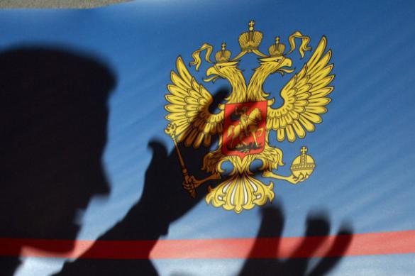 Российский полицейский-