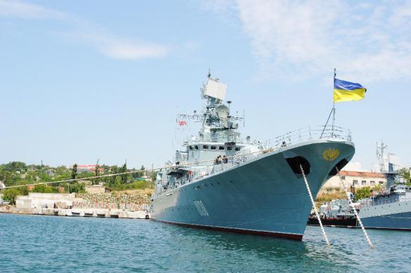 Военные моряки Украины угрожают Порошенко уходом в Крым. Военные моряки Украины угрожают Порошенко уходом в Крым