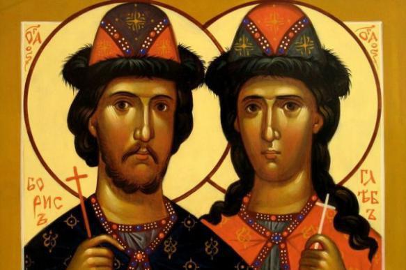 Князья-страстотерпцы Борис и Глеб. 392004.jpeg