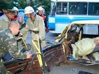 На Киевском шоссе в Подмосковье разбились три человека