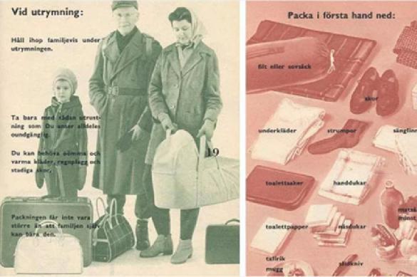 Для шведов решили переиздать буклет времен войны из-за русских маневров
