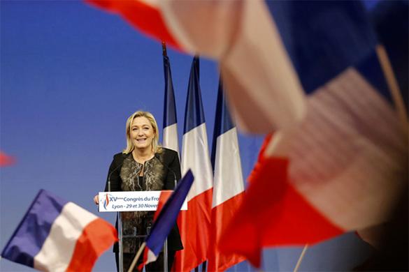 Национальный фронт Франции близок к победе на местных выборах. марин ле пен, национальный фронт Франции