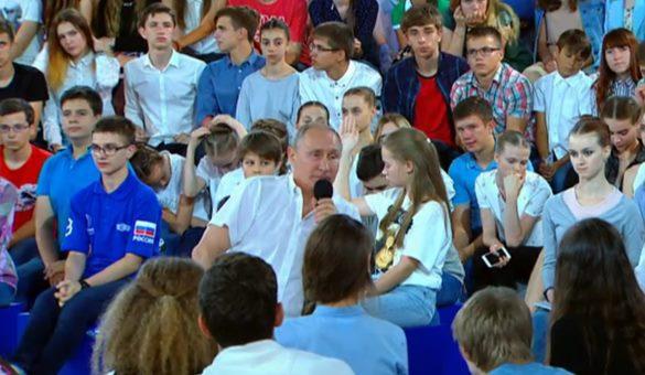 """Президент России рассказал, как его отговаривали от создания """"Сириуса"""""""