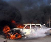 В Назрани прогремел взрыв перед зданием ГОВД