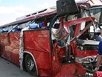 В Новосибирской области разбился автобус. Есть погибшие