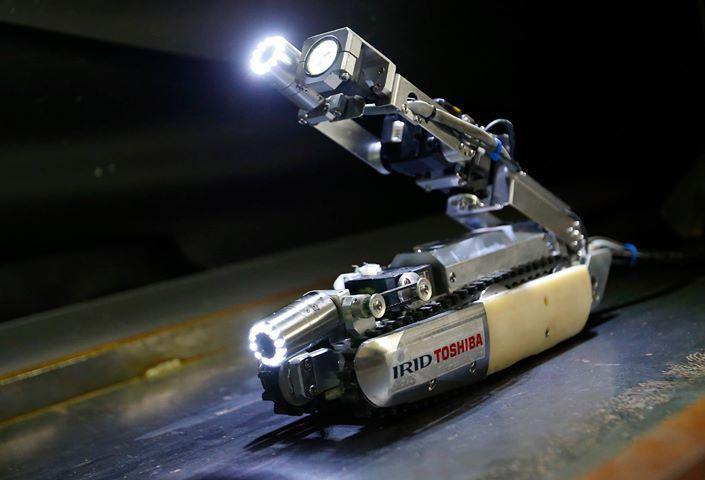 Новая разработка Toshiba: робот-скорпион проверит реактор