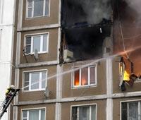 В Петрозаводске произошел пожар в доме ветеранов