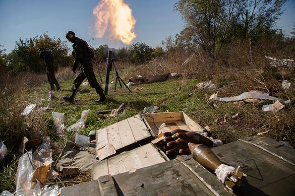МИД Германии: введенное в Донбассе перемирие провалено с обеих сторон