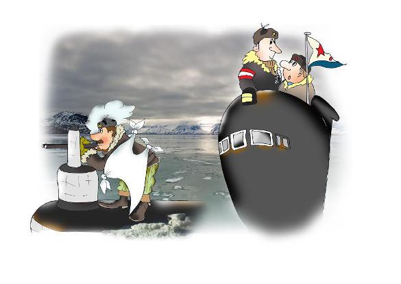 Подводников без чувства юмора не бывает. День моряка-подводника, 19 марта, подводный флот России