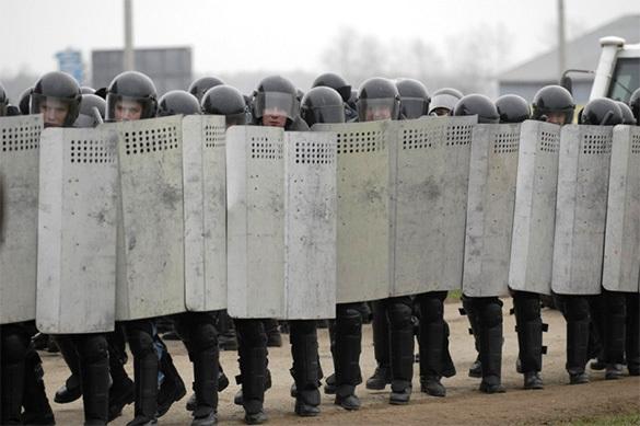 Полиция сняла с себя ответственность за последствия протеста 26