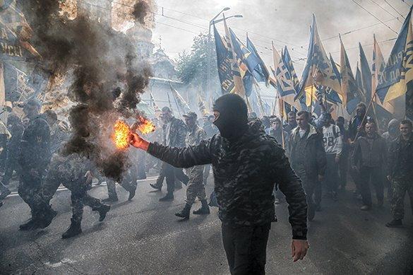 Марш УПА провели в Ивано-Франковске