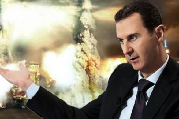 ПВО Сирии сбили несколько вражеских целей в небе над Дамаском. 397014.jpeg
