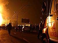 В Московской области взорвался магистральный газопровод