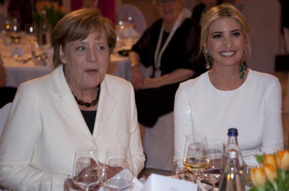 Иванка Трамп полагает, что у немцев больше общего с США, чем с Россией.