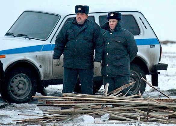 Полицейские таранили машину собственного начальника. 303018.jpeg