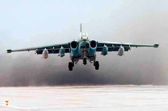 Су-25 разбился в Приморском крае