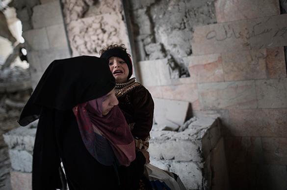 Пентагон проверяет данные о смерти мирных граждан близ Мосула