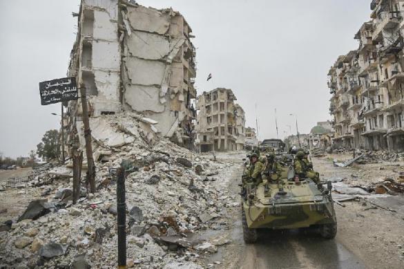 В Сирии окружен крупный отряд террористов. В Сирии окружен крупный отряд террористов