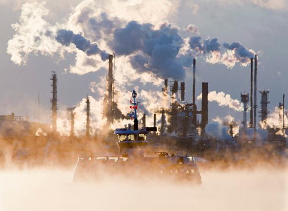 ЕС намерен сократить выбросы парниковых газов на 40 процентов. ЕC будет сокращать выбросы в атмосферу