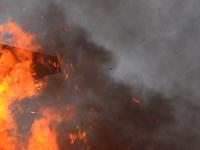 В центре Москвы горит 5-ярусная автостоянка. 277022.jpeg
