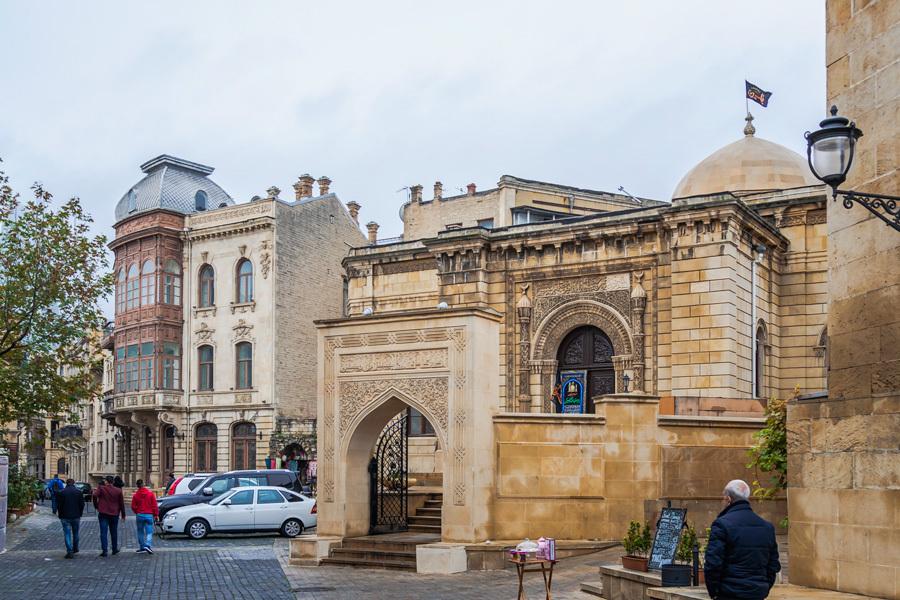 Ичери-шехер, старый город Баку