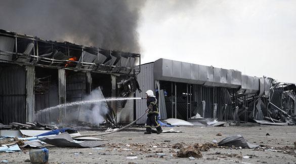 Обстрелы в Донбассе: трое убиты, более 90 человек ранено. Обстрел в Донецке