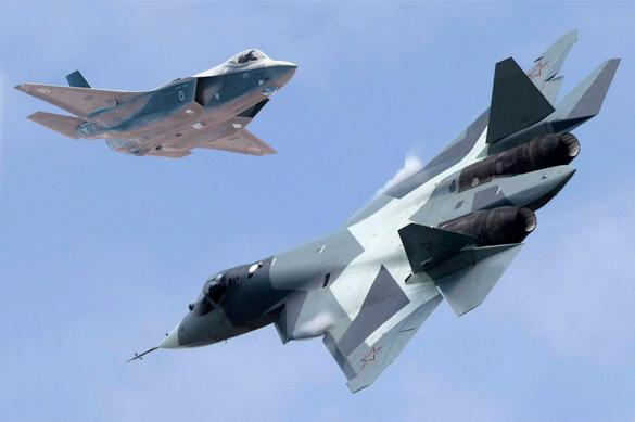 National Interest: Т-50 уделает F-35 как боксер-младенца