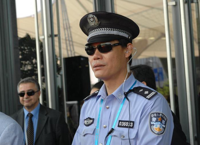 Полиция, Китай