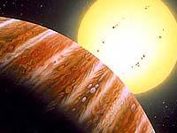 Астрономы наблюдали изменение фазы далекой планеты