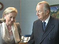 Король и королева Бельгии отмечают 50-летие со дня свадьбы