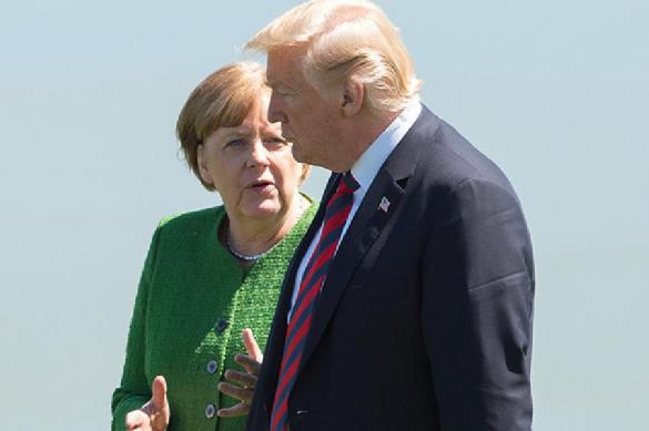 Deutsche Well: подавляющее большинство немцев считают отношения Германии и США плохими. 400024.jpeg