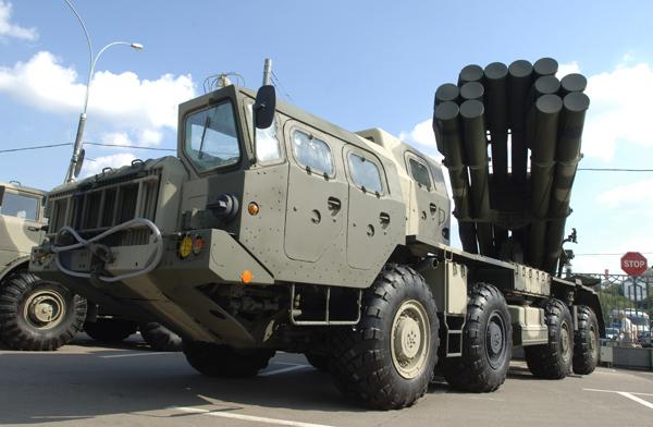 На юге России начались масштабные военные учения с использованием артиллерии. РСЗО Смерч