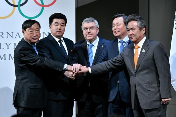 МОК допустил на Олимпиаду 22 спортсмена из КНДР. МОК допустил на Олимпиаду 22 спортсмена из КНДР