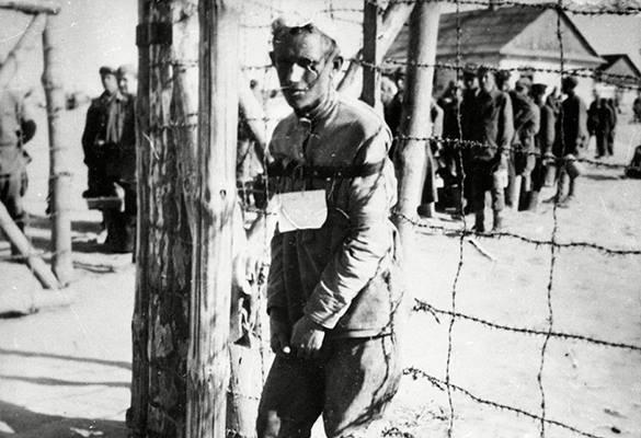 Tageszeitung: В отношении советских военнопленных было приказано забыть о Женевском соглашении. Пленник концлагеря