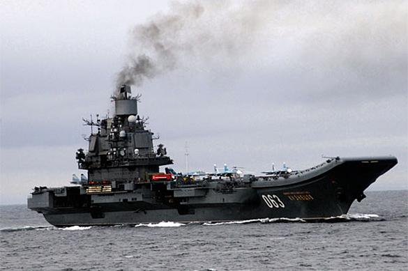 Стали известны подробности модернизации Адмирала Кузнецова