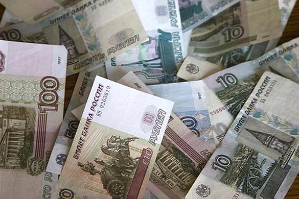 Депутаты рассчитывают на денежный станок. Рубли, купюры.