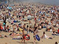Британский курорт обвиняет синоптиков в плохом прогнозе