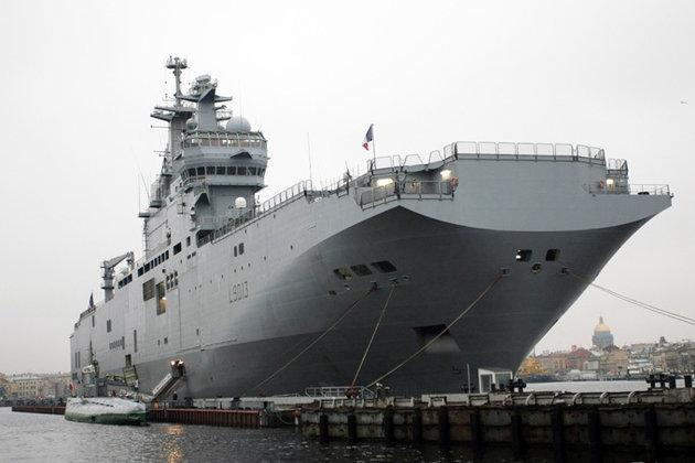 Российский экипаж завершил свой первый выход в море на борту