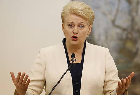 Даля Грибаускайте: России теперь будет сложно шантажировать Европу газом.