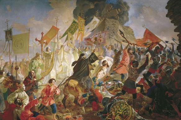 Как псковичи героически отстояли город в XVI веке. 395031.jpeg