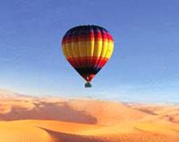 В Турции рухнул воздушный шар с туристами
