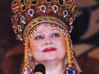 Певица Людмила Рюмина отмечает юбилей