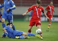 Сборные России и Греции сыграли вничью. football