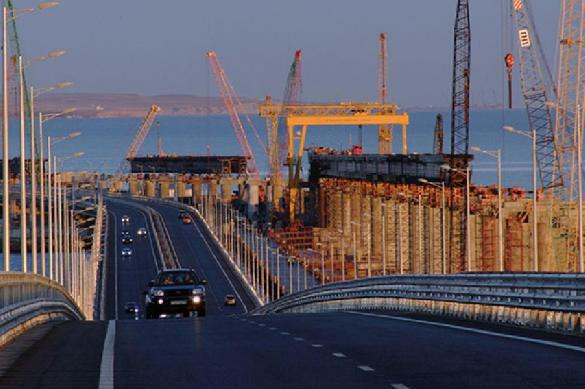 Крымский мост трещит пошвам иотходит отполуострова?